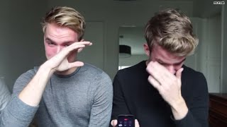 *Tears*: Watch as twin brothers come out to dad