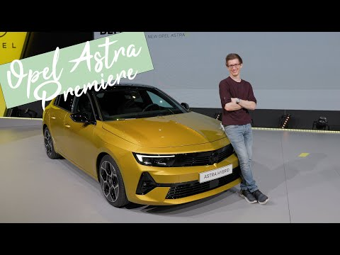 2022 Opel Astra L Sitzprobe: Infos zu Ausstattung, Motoren und dem Opel Astra-e [4K] - Autophorie