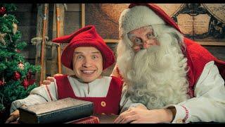 Santatelevision Youtube channel trailer: Santa Claus TV Lapland Finland Rovaniemi Father Christmas