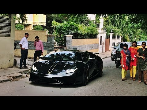 SUPERCARS IN INDIA - SEPTEMBER 2017 (Bangalore) Part 1