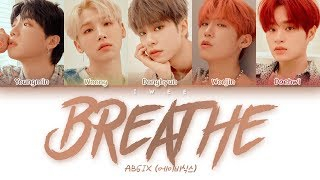 AB6IX (에이비식스)   Breathe (Han|Rom|Eng) Color Coded Lyrics한국어 가사