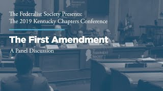Click to play: First Amendment Panel