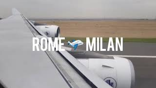 From Rome to Milan #myeropewinterjourney2018