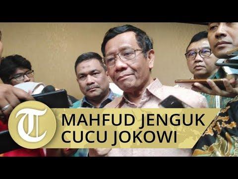 Mahfud MD Jadi Menteri Pertama yang jenguk Cucu Ketiga Jokowi, La Lembah Manah