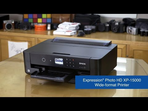 Expression Photo HD XP-15000 Wide-format Printer | Take a Tour