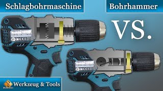 Schlagbohrmaschine VS Bohrhammer / Die Unterschiede und worauf sollte man beim Kauf achten!