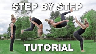 Standing Back Flip/Tuck Tutorial! *LEARN AT HOME*