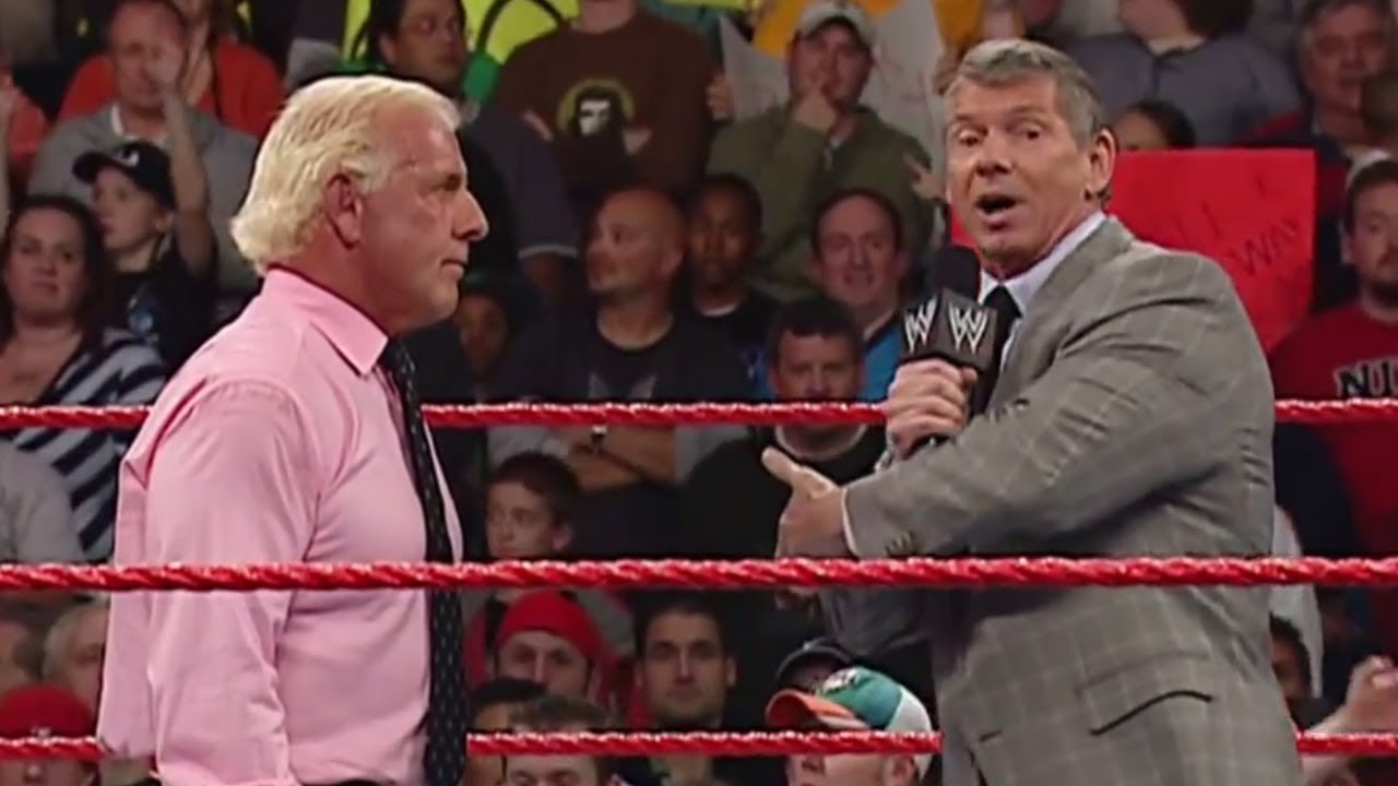 Ric Flair Recalls Conversation With Vince McMahon Following WWE Release