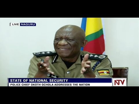 Resist security operatives who don't identify themselves - IGP Ochola