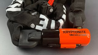 [868] Why I Use This Lock On My Bicycle - Kryptonite Evolution Chain Lock (Series 4)