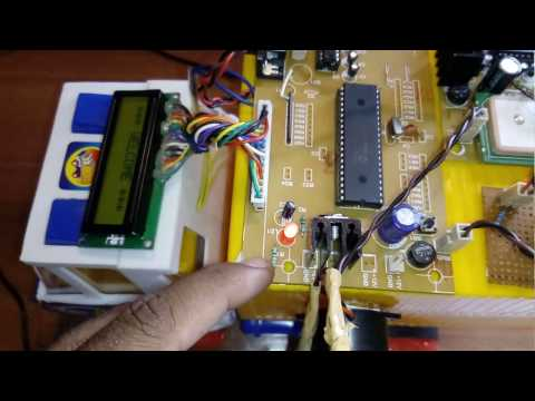 GSM And GPS Based Vehicle Accident Detection System Using PIC16F877 Microcontroller Mp3