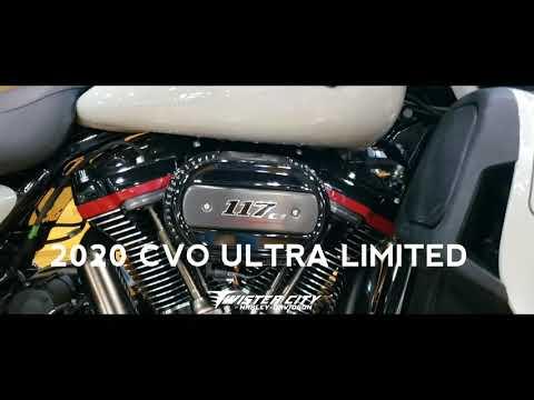 2020 Harley-Davidson® CVO™ Limited : FLHTKSE