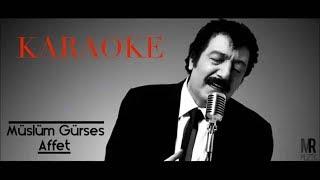 Affet- Karaoke (Mi) Akustik Version --Temple Of The King