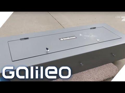 Die raffiniertesten Tresore der Welt | Galileo | ProSieben