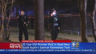 Woman Slain Outside Elementary School On West Side