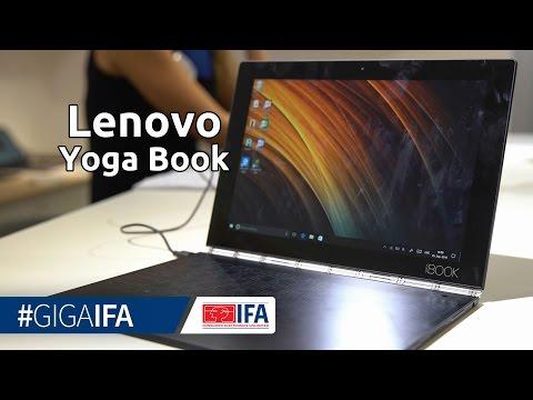 Lenovo Yoga Book im Hands-On: 2-in-1-Notebook mit Touchscreen-Tastatur - IFA 2016 - GIGA.DE