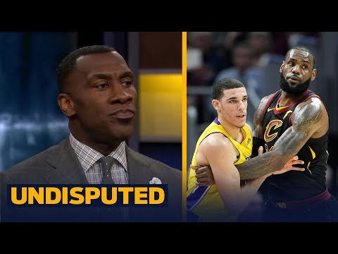 Skip and Shannon on LeBron's postgame chat with Lonzo after the Cavs beat the Lakers   UNDISPUTED