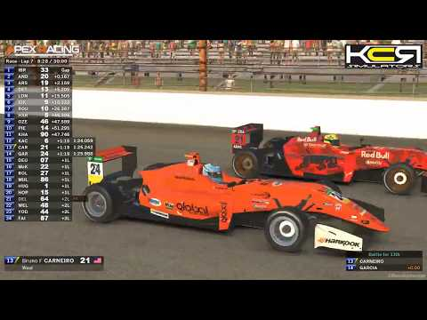 KCR Simulators F4 U.S. Esports Championship | Round 1 at IMS Road Course
