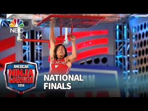 Daniel Gil at the National Finals: Stage 3 - American Ninja Warrior 2016