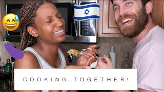 Tvon Cooks Isreali Cuisine! COOKING WITH US! Multicultural Households 🇮🇱🇺🇸