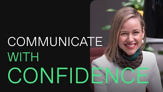 Learn how to speak confidently in public & at work.