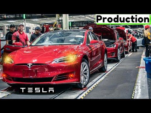 TESLA FACTORY TOUR🚗{Megafactories}: ⚡Model X • Y • S • 3 – How it´s made? ➕Building batteries