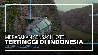 Jadi Hotel Gantung Tertinggi di Dunia, Begini Sensasi Menginap di Skylodge Purwakarta