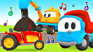 Песенки с Левой - Учим Машинки - Музыкальные мультики для детей
