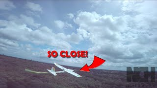 Plane chase / day out with London FPV Freestylers