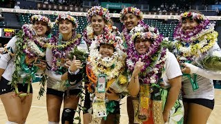 Rainbow Wahine Volleyball 2018 - Hawaii Vs UC Davis