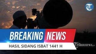 BREAKING NEWS: Hasil Sidang Isbat 1 Ramadan 1441 H Jatuh pada Jumat 24 April 2020