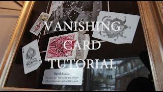 Back palm Card trick tutorial-Julien Magic