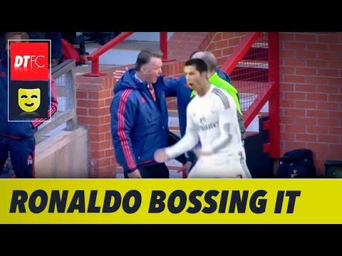 Selebrasi Ronaldo di Camp Nou Gemparkan Dunia, Simak Videonya!