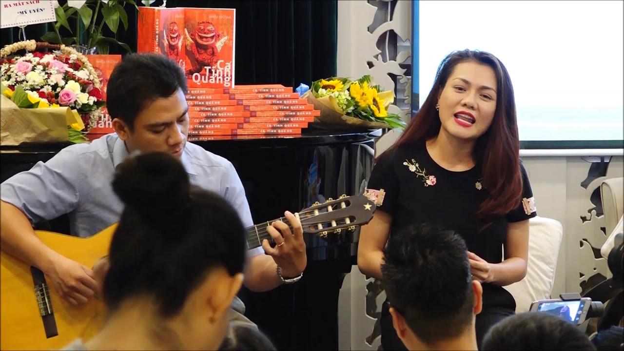 Ca sĩ Vy Thảo hát Quảng Nam yêu thương