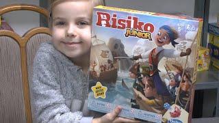 Risiko Junior (Hasbro) - ab 5 Jahre - sieht spaßig aus aber reicht das?
