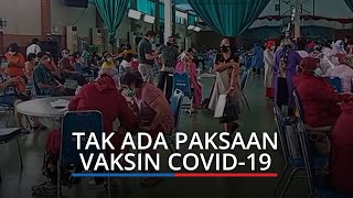 Tak Ada Paksaan Vaksin Covid-19, Plt Wali Kota Padang: Tergantung Kemauan Masing-masing