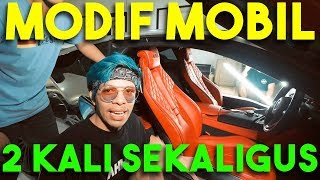 MODIF 2 MOBIL SEKALIGUS!! KIRA-KIRA JADI APA YA?!