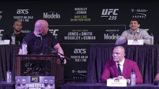 Dana White And Ben Askren Squash Their Beef At UFC 235 Press Conference