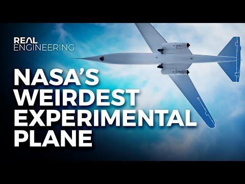 This Is NASA's Weirdest Plane Design Yet!