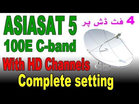 Asiasat 5 at 100e C band satellite - смотреть онлайн на Hah Life