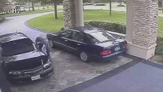PROCESS SERVER URINATES ON DRIVEWAY OF THE PERSON SHE IS SERVING.