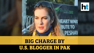 Raped by Pakistan ex-minister, claims US blogger Cynthia Ritchie - Download this Video in MP3, M4A, WEBM, MP4, 3GP