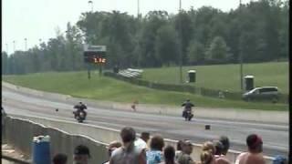 In Memory of Joe Brown, Drag Race Victory Hammer Vegas HD Harley ZRX V-Rod Destroyer Motorcycle