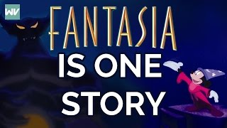 Fantasia Is ONE Story | Origin Of Disney Universe: Discovering Disney Theory