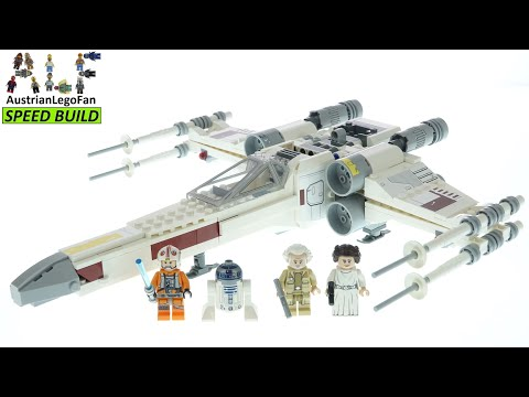 Vidéo LEGO Star Wars 75301 : Le X-Wing Fighter de Luke Skywalker