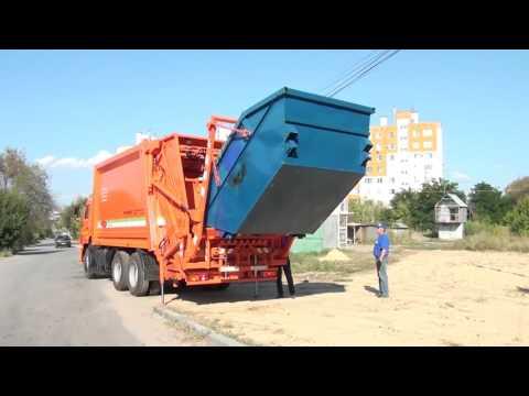 В Волгограде 35 новых мусоровозов пополнили автопарк группы компаний