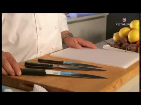 Cuidado de cuchillos - Almacenamiento y limpieza