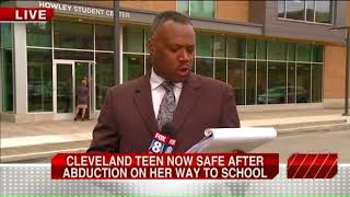 Cleveland teen abducted on way to school