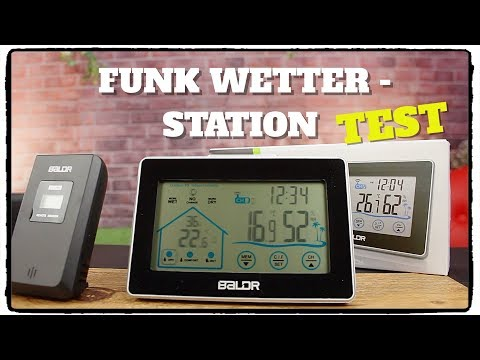❌TEST BALDR FUNK - WETTERSTATION VON AMAZON ⭐⭐⭐⭐⭐