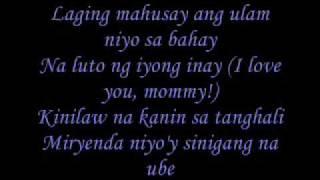 Cooking Ng Ina Mo (Lyrics)